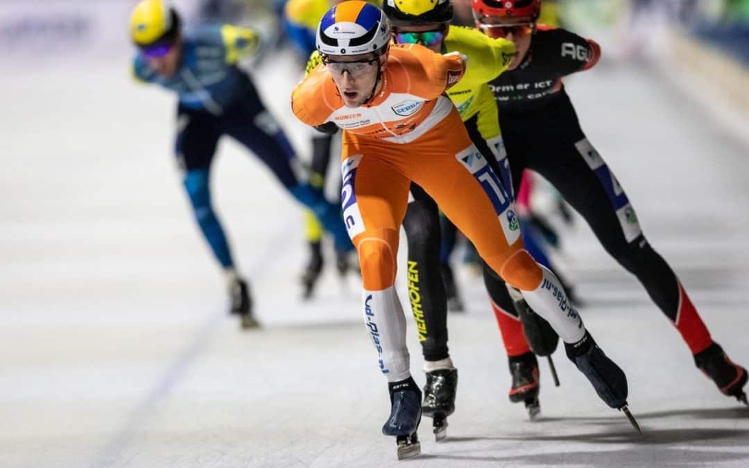 Kruijer eindigt in Breda net naast het podium